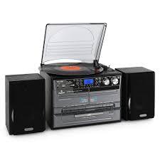 Wohnzimmerm El 30er Jahre Kompakt Stereoanlagen Mit Bluetooth Und Plattenspieler Ebay