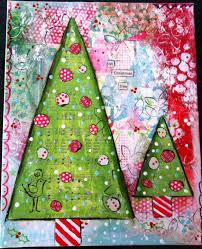 christmas tree art ideas ne wall