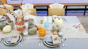 Home Table Decor thanksgiving table decor ideas for the and kids u0027 tables
