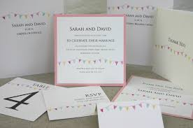 bunting wedding invitations luxury wedding invitations