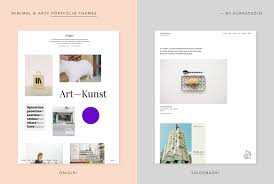 onigiri and suidobashi our two new minimal portfolio wordpress
