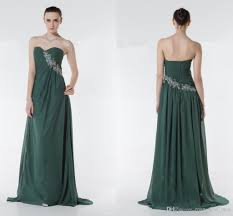 new 2015 forest green prom dresses sweetheart open back beaded
