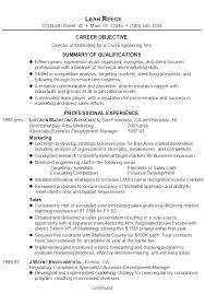 Civil Resume Sample by Resume For A Director Of Marketing Susan Ireland Resumes
