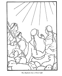 jesus the good shepherd coloring pages color pages sherpard christmas this christmas story coloring