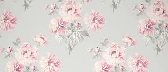 beatrice cyclamen floral wallpaper at laura ashley