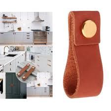 replacement kitchen cupboard door knobs 2021 leather luggage cabinet door pulls handle for home