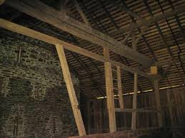 Round Barn Gettysburg Post And Beam Framing Phmc U003e Pennsylvania Agricultural History