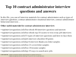 top 10 contract administrator interview questions and answers 1 638 jpg cb u003d1427522346