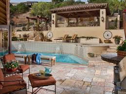 look great many stair and pool backyard covered patio grey