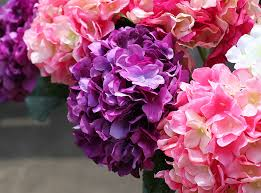 Bulk Hydrangeas Artificial Flowers Long Stem Artificial Flowers Long Stem