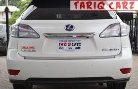 lexus rx 450h price in pakistan tariq carz lexus rx u00272012