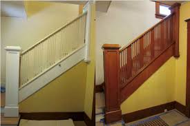 What Does Banister Mean Stripping Paint From Bannisters