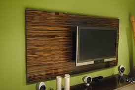 decorative wood panels wall custom made macassar wood wall tv panel home