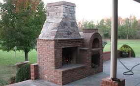 Building A Backyard Pizza Oven by The Riley Family Wood Fired Brick Pizza Oven By Brickwood Ovens