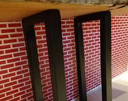 vintage coffee table legs tapered steel table legs metal table legs bench legs steel