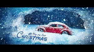 volkswagen christmas christmas opener by jenivest videohive