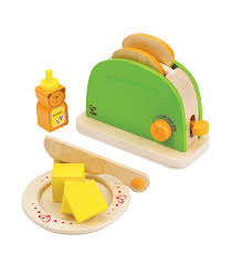 Fun Toaster Pop Up Toaster From Hape From The Wooden Toybox