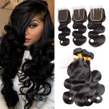 free hair extensions vipbeauty 8a malaysian wave hair bundles with closure 4 4