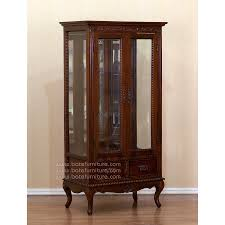Curio Cabinet Lighting Curio Cabinet Antique China Cabinets Display And Custom Made Low