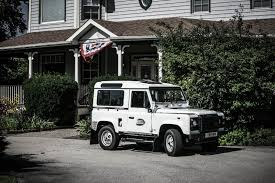 land rover vintage adopting my first vintage land rover defender 90 bishop rook