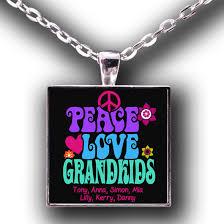 grandkids necklace peace grandkids necklace personalized zorora
