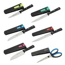 stay sharp kitchen knives staysharp triple rivet kitchen knives complete set with scissors