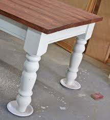 Woodworking Plans For End Tables by Old World Chippy Distressed Paint Finish Ana White Woodworking