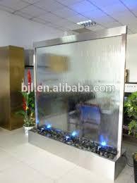 indoor glass mirror waterfall floor standing room divider buy