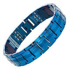 germanium health bracelet images Channah men black health bracelet 4in1 magnets negative ions jpg
