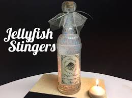 jellyfish stingers potion diy potion bottle halloween prop