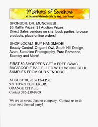 Gifts By Mail Markets Of Sunshine July 2014