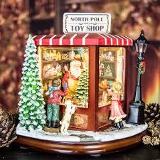 lighted santa s workshop advent calendar christmas decorations product categories santa claus the book