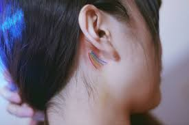 cover tattoo behind your ear 11 tiny tattoo ideas for behind your ear from celebrity tattoo