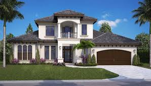 Florida House by Our Architectural Design Collection Budron Homes