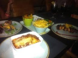 casa nostra cuisine lasagne casa nostra mixed grill souvlaki picture of