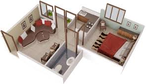 house design maps free 421 sq ft 1 bhk 1t apartment for sale in aftek group housing
