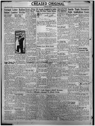 Red Flag Newspaper Timber Strike 1935
