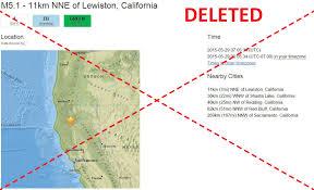 Usgs Earthquake Map California Chemeketa Community College Earthjay Science