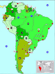 south america map with country names and capitals toposite learn topo by practicing topography south