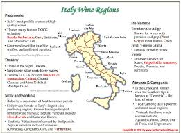 Campania Italy Map by Italy Wine Regions Grapes Producers