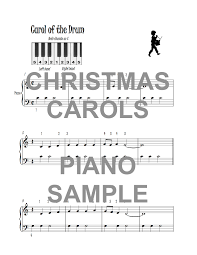the peachy piano book of easy carols