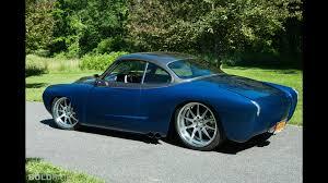 volkswagen karmann volkswagen karmann ghia blue mamba custom