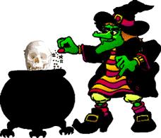 animated halloween clip art animated sorceress clipart animated pencil and in color sorceress clipart