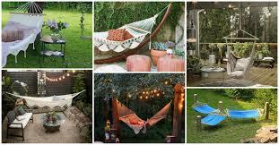 16 heavenly good backyard hammock designs