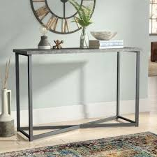 Concrete Console Table Outdoor Concrete Console Table Wayfair