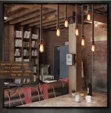Bar Pendant Lighting Loft Rejuvenation Industrial Chandelier Lighting Bar Pendant