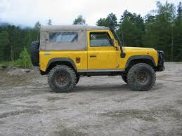 land rover defender 90 yellow land rover 90 2566270
