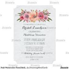 bridal lunch invitations bohemian floral bridal luncheon invitation bridal shower or party