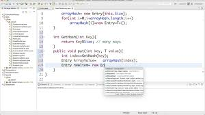 Hash Table Implementation 16 Implement Hash Table In Java Youtube