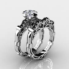 black sapphire engagement rings wedding rings cheap white sapphire engagement rings sapphire